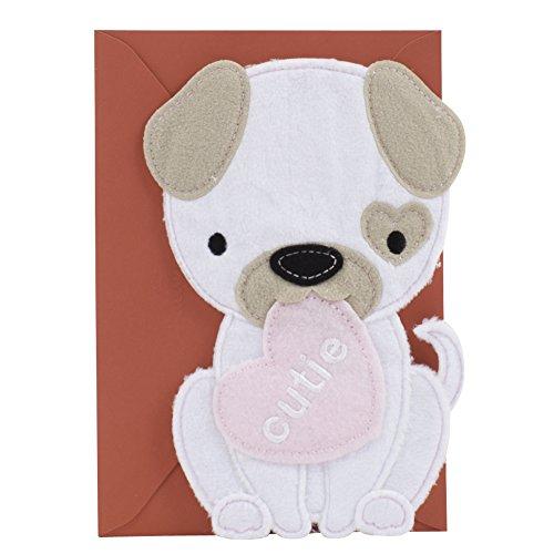Hallmark Signature Valentine's Day Card for Kids (Cutie Puppy Dog)