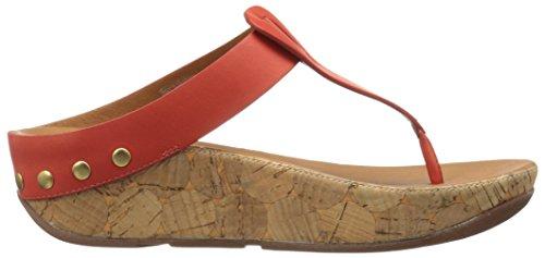 Flop Flip Toe Ibiza Women's Flame Thong Cork Sandals Fitflop Leather wOfaqv