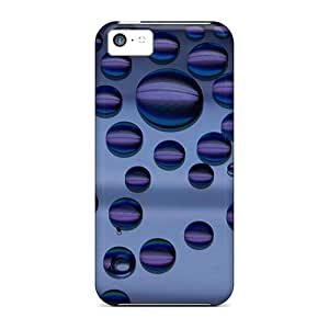Casecover88 JWT43355DSQK Cases Covers Skin For Iphone 5c (bubbles)