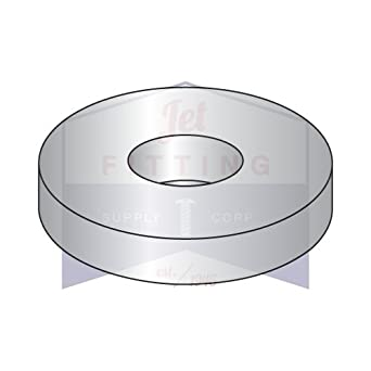 316 Stainless Steel Flat Washer 1//4 Qty 1000