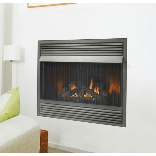 Zero Clearance Propane Fireplace - 1