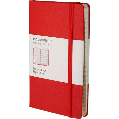 (Moleskine Large Red Address Book) By Moleskine (Author) Hardcover on (06 , 2009) (Anglais) Relié – 31 mai 2009 B0053UWOFQ