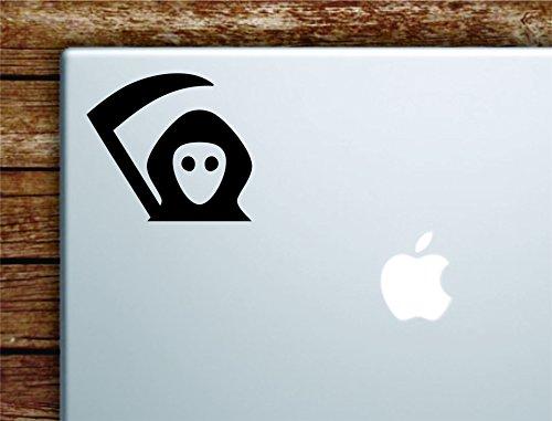 Boop Decals Grim Reaper Laptop Apple Macbook Car Quote Wall Decal Sticker Art Vinyl Cute Inspirational Teen Day of the Dead Halloween Skull -