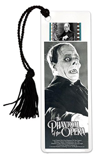 FilmCells The Phantom of The Opera (1925) Lon Chaney Bookmark with Tassel and Real 35mm Film Clip