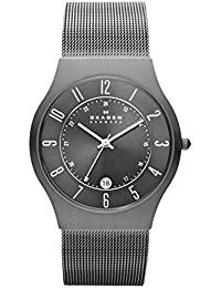 Watches, Men's Titanium 233XLTTM Grey Mesh Titanium Watch