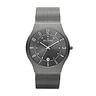 Skagen Men's Titanium Watch Grey 233XLTTM (B0007X9F7E) | Amazon Products