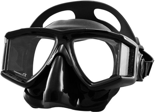 4 Lens Panoramic Purge Mask (Tilos Purge Panoramic Tempered Lens 4-Window Mask (Black/Black))