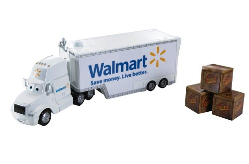CARS WALMART Hauler Wally (Walmart Boy Toys)