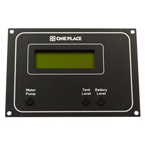 One Place 0010032-30 Monitor Panel with LCD Display 1 Lcd Display