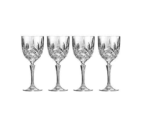 Set of 4 Marquis By Waterford Markham Wine Glasses   Beautifully D (Large Image)