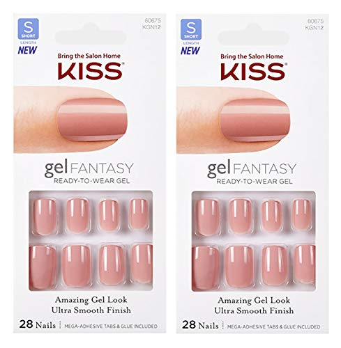 2-PACK Kiss GEL FANTASY