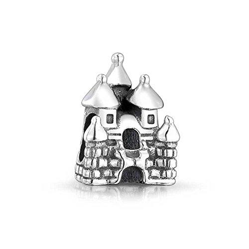 [truecharms Silver Plated Fairytale Charm Princess Castle Beads Fits European Jewelry Charms] (Fairy Princess Costume Diy)