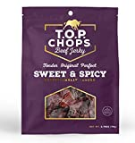T.O.P. Chops Sweet & Spicy-Soft & Tender Gourmet Beef Jerky (5 pack)