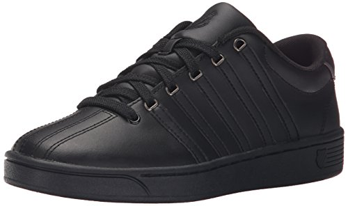 K-Swiss Women's Court Pro II CMF Athletic Shoe, Black/Gunmetal, 8 M US
