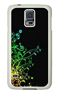 Unique Painting Abstract Colorful Plants Cover for Samsung S5 and Samsung Galaxy S5