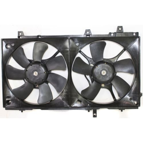 MAPM Premium FORESTER 03-08 RADIATOR FAN SHROUD ASSEMBLY, w/ Turbo by Make Auto Parts Manufacturing