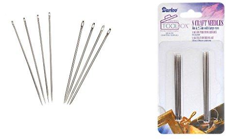 Darice Threading Needles, 8-Piece