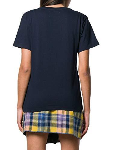 T Ferretti Cotone J070816720290 Alberta Donna Blu shirt az5qRRHw
