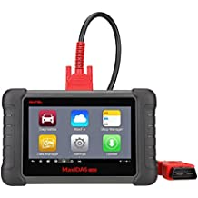 Autel MaxiDAS DS808 OBD2 Diagnostic Scanner with Bi-directional Control, Key Fob Programming, ECU coding, ABS bleeding brake, Reset Functions including Oil Reset, EPB, SAS, DPF, BMS, ABS, SRS, TPMS