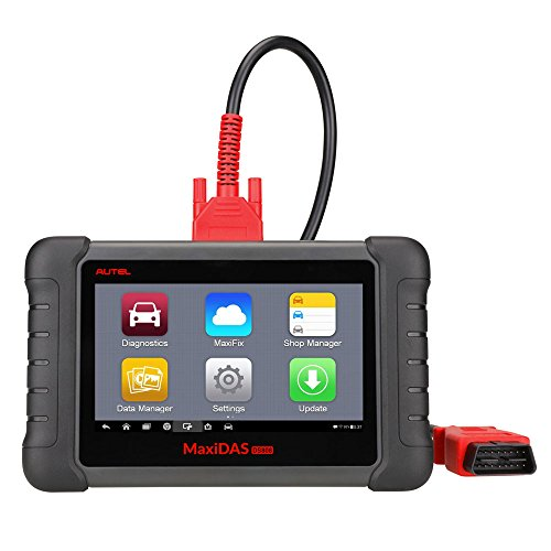 Autel Maxidas DS808 OBD2 Diagnostic Scanner More Advanced Scan Tool with Bi-directional Control Ability and Key Programming (Upgraded version of DS708 and same as MS906)