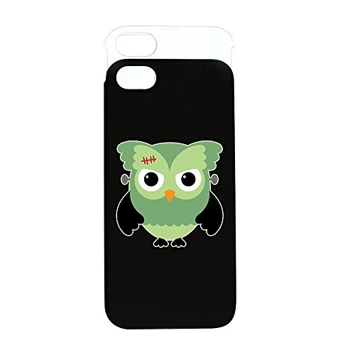 iPhone 5 or 5S Wallet Case Black and White Spooky Little Owl Frankenstein Monster]()