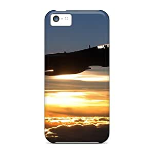 High-quality Durable Protection Cases For Iphone 5c(f 14 Tomcat Sunset)