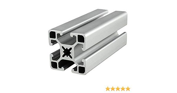 "ITEM Inc. # Profile 8 40x80 light 93/"" length 40mm X 80mm T-Slot Aluminum"