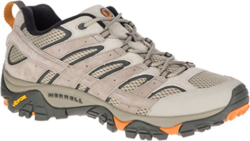 - Merrell Men's Moab 2 Vent Hiking Shoe (9 D(M) US, Brindle)