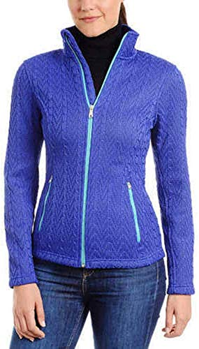 Spyder Ladies' Major Cable Stryke Jacket, Variety (M, Blue)