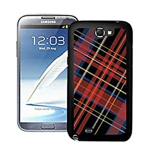 YXF Blazing Colour Cell Pattern 3D Effect Hard Case for Samsung Galaxy Note II N7100