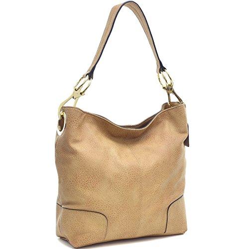 b99ca04338c8 Dasein Women s Classic Faux Leather Hobo Purse Shoulder Bag Tote Handbag
