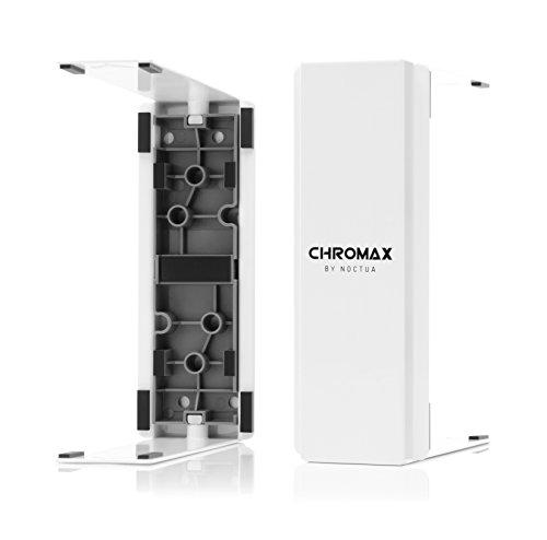 Noctua NA-HC2 chromax.White heatsink Cover (for NH-U12S, NH-U12S TR4-SP3 & NH-U12S SE-AM4)