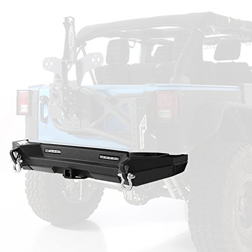 (Smittybilt 76858 XRC Gen 2 Rear Bumper for Jeep Wrangler)