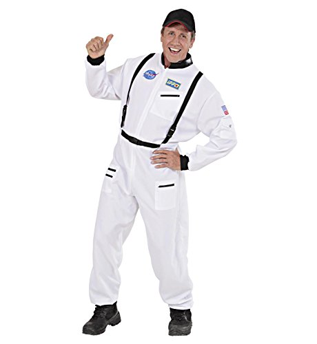 Large (White Astronaut Adult Costumes)