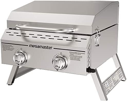 Megamaster 820 0033M Propane Grill Stainless product image