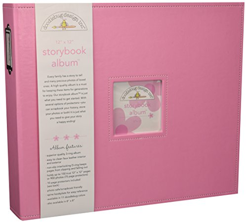Doodlebug Design Cupcake Storybook for Scrapbooking Album, 12 by 12-Inch