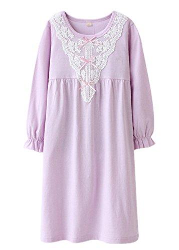 ASHERANGEL V neck Nightgown Sleeve Sleepwear product image