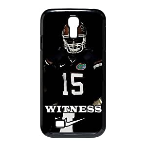 Jany store123 store Custom Denver Broncos Tim Tebow from NCAA Florida Gators black plastic Case for SamSung Galaxy S4 I9500 cover