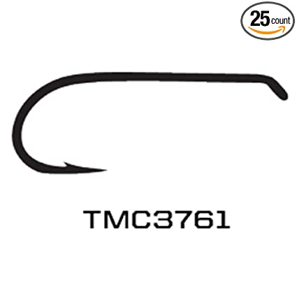Fly Tying TMC 2488 Size 22 100 Tiemco Nymph Fly Hooks
