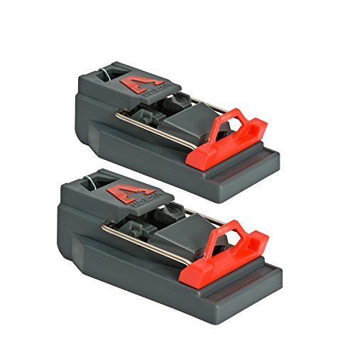 Victor M140S Quick Kill Mouse Trap, 2-Pack Easy to Set mouse trap (Trap Mouse 2 Pack)