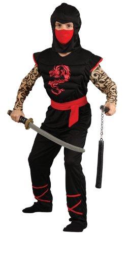 Wicked - Disfraz de guerrero ninja para niño, pechera con ...