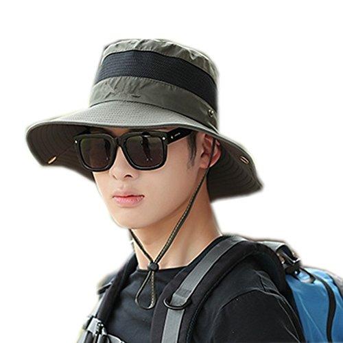 修正マットレス友だちacHt(アハト)紫外線UVカット 日焼け防止 帽子 ハット アウトドア 登山 釣り キャップ 農作業 多機能 メッシュ 通気速乾 男女兼用 全10色