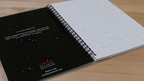 """Scrubby Reusable Whiteboard Notebook — Large Size (8"""" x 10"""") — Imagine Cover Photo #4"""