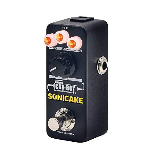 (SONICAKE Guitar Pedal Cry-Bot Envelope Filter Auto Wah for Funk Bass and Guitar Players)