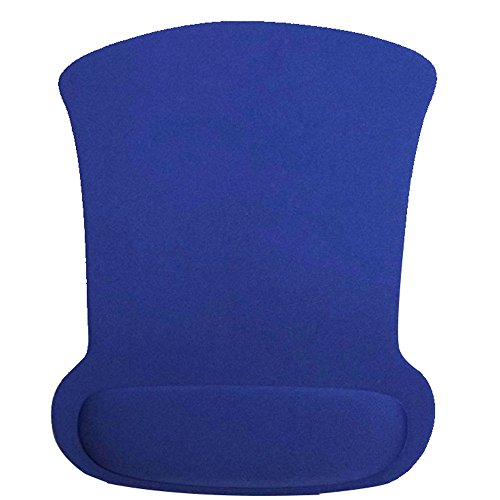 Finedayqi ❤ Gel Wrist Rest Support Game Mouse Mice Mat Pad for Computer PC Laptop Anti Slip (Blue)