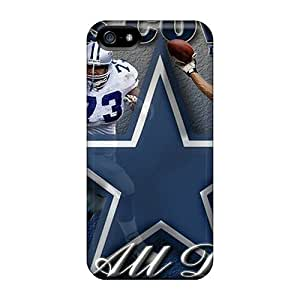 Durable Defender Cases For Iphone 5/5s Covers(dallas Cowboys)