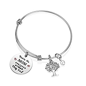iJuqi Mom Gifts Mother Bracelet - You are The Mom Everyone Wished They Had Family Tree Bracelet for Mom for Mother (A)