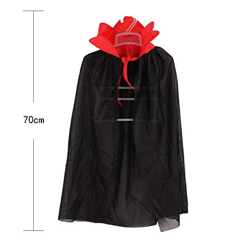 Party Diy Decorations - 1pc Death Hoody Cloak Devil Long Tippet Cape Kids Masquerade Party Halloween Costume Theater Prop - Decorations Party Party Decorations Film Director Trench Coat Women -