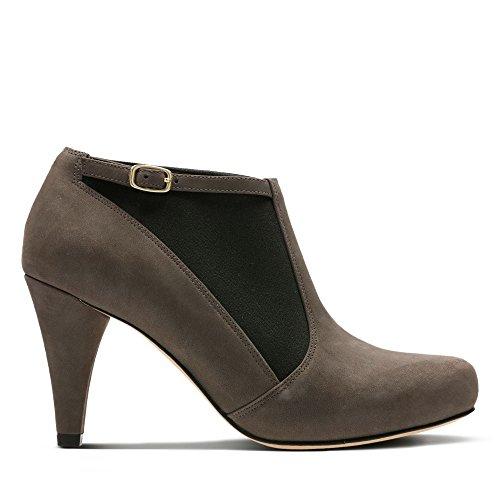 Beige Cordones Zapatos para de Pearl Dalia Clarks Beige de Mujer Piel OHwqfTFTx