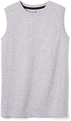 French Toast Boys Sleeveless Solid Muscle Tee